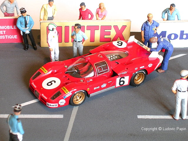 Gpma 1 43 Le Mans 1970 Diorama By Ludovic Papin