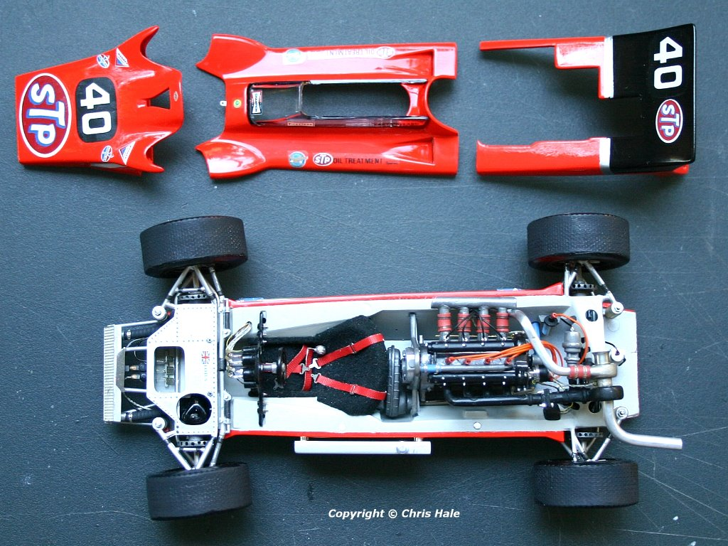 How Many Laps In Indy 500 >> Lotus 56B Offenhauser Indy Car   Grand Prix Modelers Association