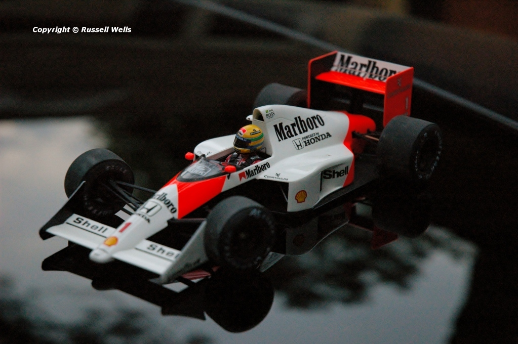 McLaren MP4/5 | Grand Prix Modelers Association