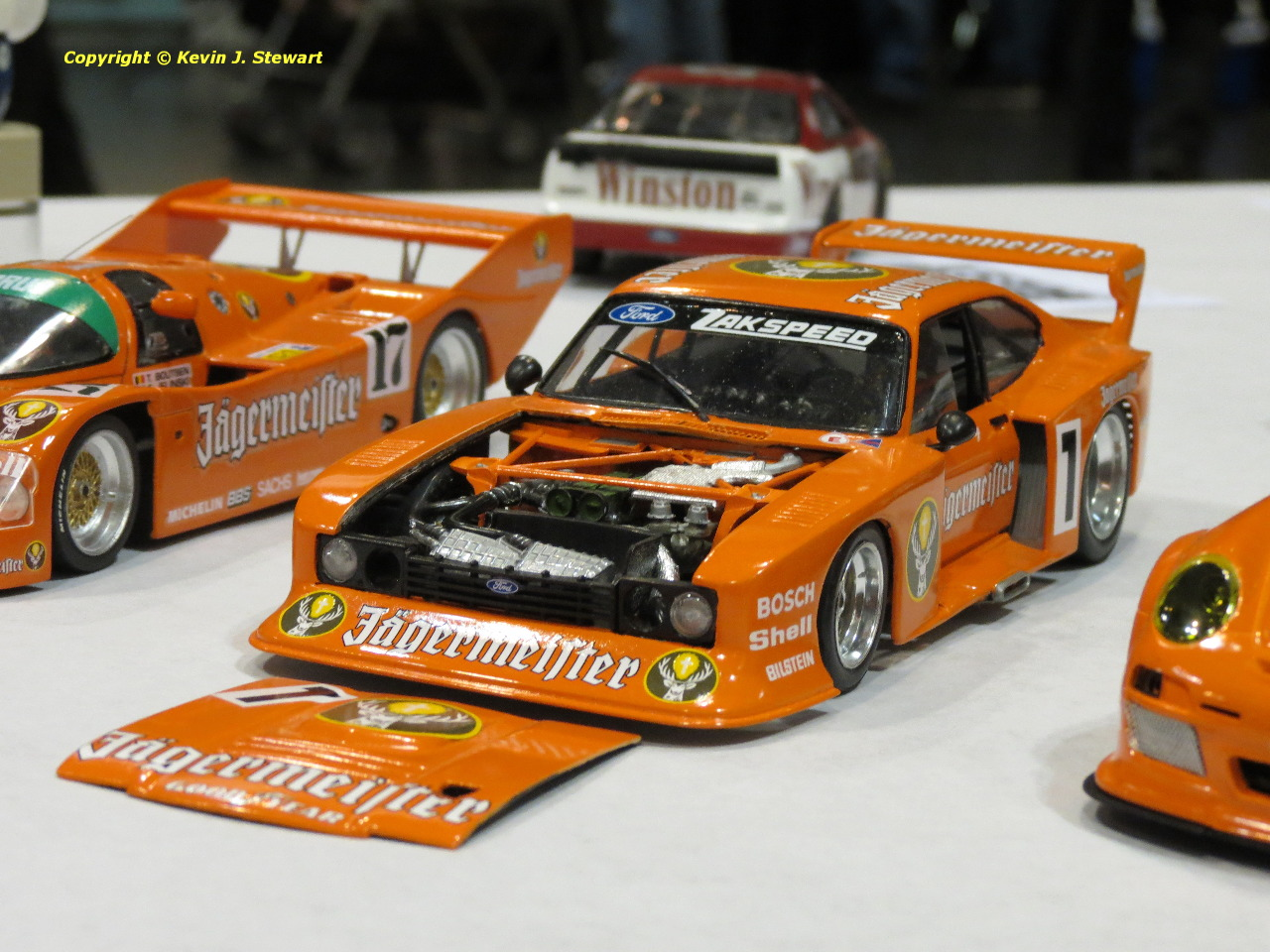 Jagermeister Racing Tribute Grand Prix Modelers Association